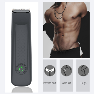 Personal Cordless Waterproof Groin Hair Trimmer Safety Electric Mens Body Hair Trimmer Cut Shaving Machine