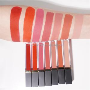 RTS011 Elegance fashion cutomized logo  private label long lasting  matte liquid lipstick