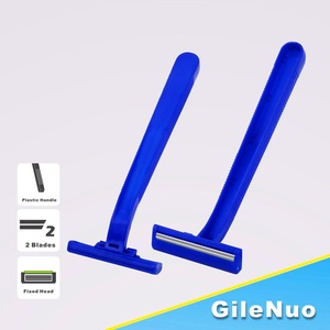 Twin Stainless Steel Blade Disposable Razor