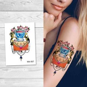 WX- 007 Custom Beauty Tattoo Sticker Body Art for Sale