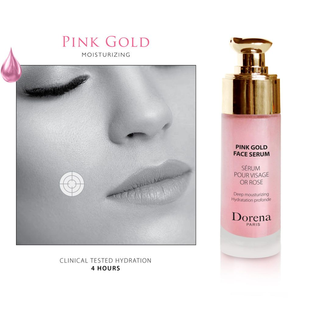 Pink gold moisturizing serum (30 ml)