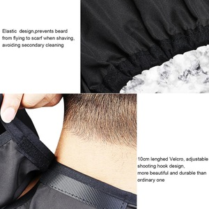 2019 Chinese Manufacturer bib apron Men Beard Apron Cape Facial Hair Nylon Aprons Hairdressing cape For Men