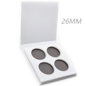 Low Moq !!! Custom Logo Makeup 4holes/9holoes Empty Pallet Magnetic Eyeshadow Pallet