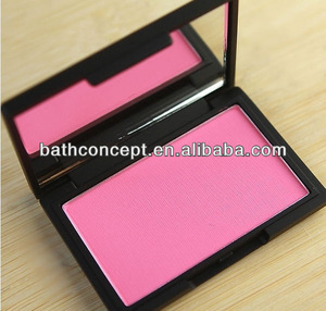 OEM pressed powder case with blush