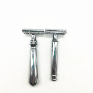 Precision Metal Single Blade Double Headed Safety Shaving Razor For Men