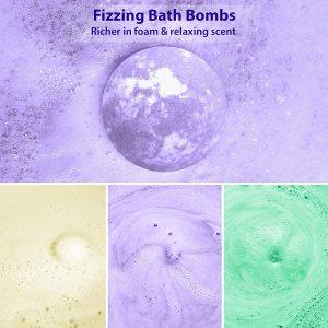 Round Biscuit Flower Sea Salt  Shower Essential Oil Bath Salt bath bombs