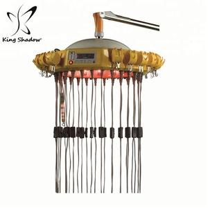 Wall mounted hair steamer digital perm machine