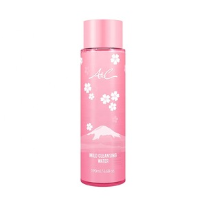 Wholesale 190ml Sakura Mild Cleansing Water Oil Free Eye And Lip Cleanser Vendor Makeup Remover  A&C Pink Series