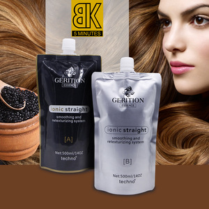 Wholesale Best Price Herbal Cold Wave Perm Lotion Hair Rebonding Relaxer Cream Set For African