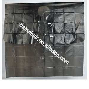 Wholesale disposable hairdressing cape hair cutting capes