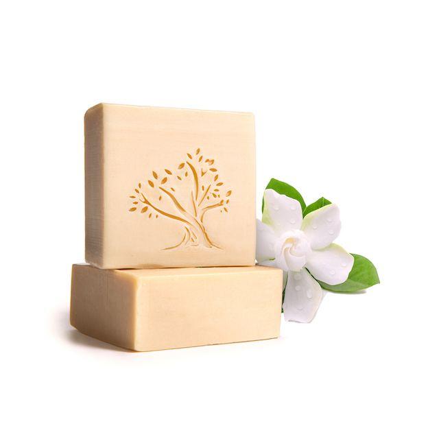 Le Joyau d'Olive - Luxury Pure Olive Oil Soap - Natural Handmade Bar for Face & Body - 1-Pack – Gardenia Oil bath bar