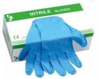 Blue Nitrile Gloves Powder Free200 Pcs for sale