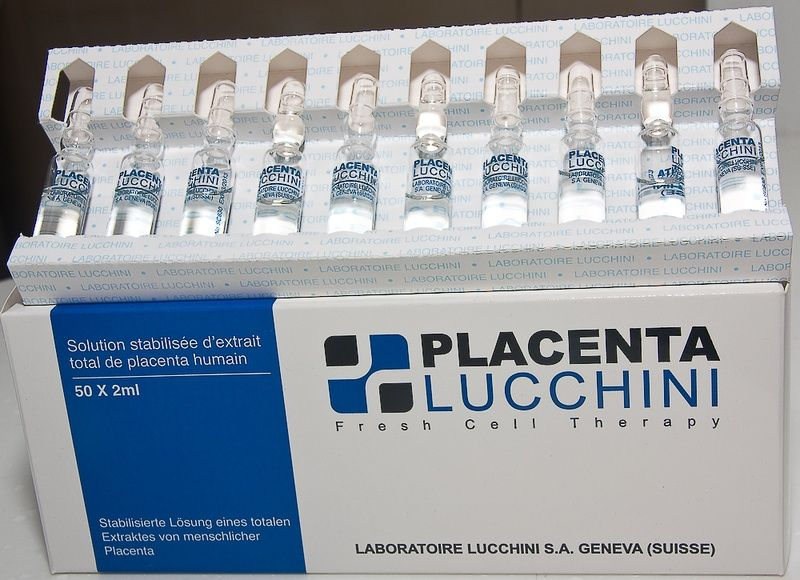 Human Placental Histosolution Injections