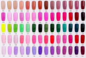 2017 Girl2Girl Factory Supply 216 Color 15ML Nail Arts Design Beautiful Color Fingernail Paint Soak Off UV/LED Gel Varnish Nail