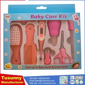 8pcs/Set Newborn Baby Kids Nail Hair Health Care
