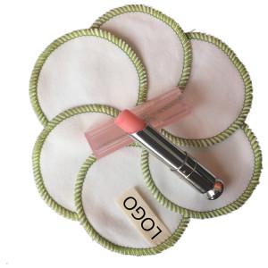 Factory Wholesale Eco-friendly  Washable Makeup Remover Cotton Pad