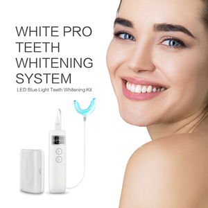 FDA&CE Approved Private Logo Wholesale Professional perfect smile best amazon blue teeth whitening system gadgets