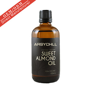 High quality Organic Sweet Almond Oil Natural Carrier Oil for skin care wholesale
