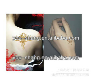 hot body art temporary tattoo