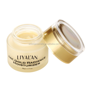 Hot selling Skin care  Multi-Vitamin Day Facial Moisturizer Cream 24K Gold Cream
