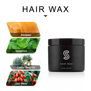 Man hair gel wax color cream private label packaging for hair styling product wax clay pomade for men hair wax