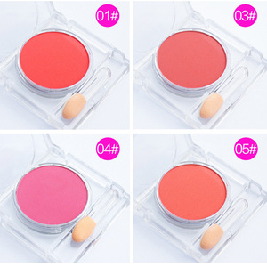 OEM/ODM Wholesale makeup high quality waterproof clear beauty 15 color blusher kit in blush