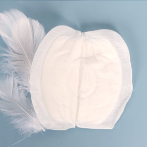 Soft Breathable Nonwoven Disposable Breast Pads