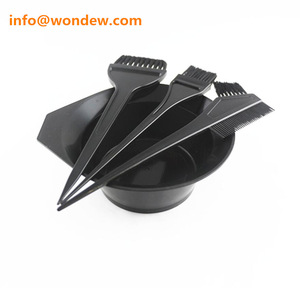 Tint bowl and brush for hair dye