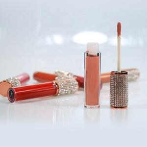 Vegan lipstick lipgloss base nude liquid lip gloss vendor waterproof private label cosmetics liquid matte lipstick