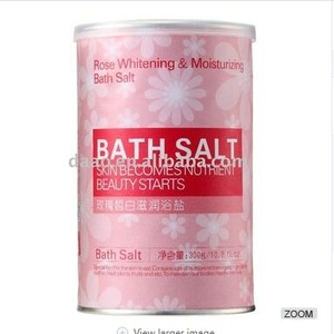 Wholesale Natural Rose Whitening & Moisturizing Bath Salt