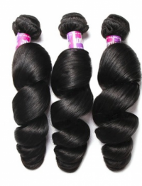 Cheap price Natural Raw Unprocessed Indian loose wave weave Remy Hair Loose Wave extension