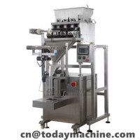 Powder Packaging Machine with Multi Head Weigher for Turmeric Powder