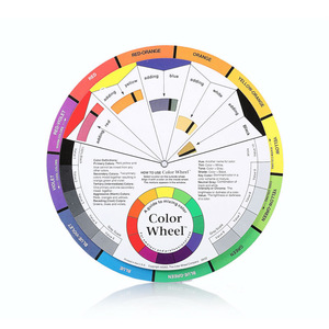 Body Art Paint Colors Wheel Of Airbrush Tattoo Accessories