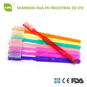 CE FDA ISO certified High Quality Disposable Toothbrush Painted Toothbrush