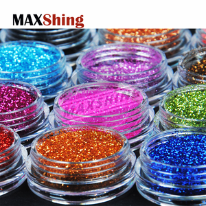 Cosmetic bulk glitter powder flakes body glitter pigments wholesale mixed glitter