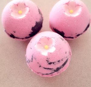 Custom bath soap balls bath bombs set of 6 with essential oil
