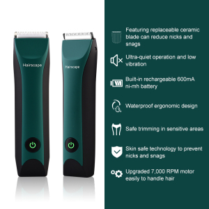 Customised hair clipper sharping machine electric rechargeable cordless professional groin body hair trimmer