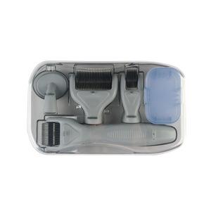 面部和身体皮肤护理工具的皮肤辊微针套件钛微针6合1套