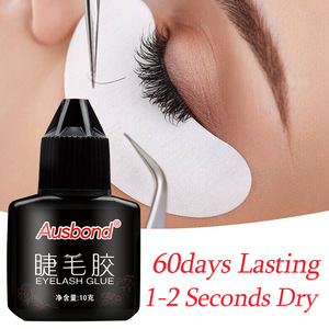 Eyelashes Glue Lovely Eyelash Extension Private Label Glue Crystal mini Lady Black Lash Glue