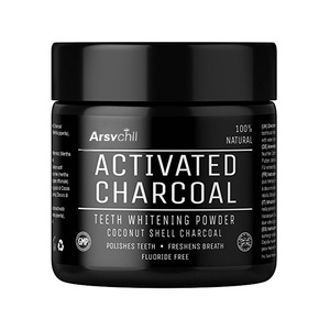 Food Grade Private Label Coconut Shell Teeth Whitening Activated Charcoal Powder