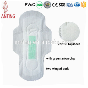 Free sample sanitary pads, lady organic cotton anion sanitary napkin