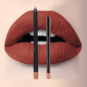 High quality smoothly lip use matte Multi-colored plastic material lip pencil lip liner