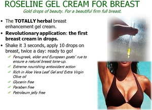 Italian breast tight cream / breast enhancement cream /cream breast with natural herbal extracts