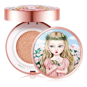 [KOREAN COSMETIC MAKEUP] BEAUTY PEOPLE RADIANT GIRL COVER WATERPROOF CUSHION FOUNDATION SEASON 2 [23 NATURAL SAND]