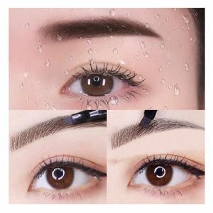 OEM Waterproof Fork Tip 4 Head Sketch tattoo Liquid Eyebrow Pencil