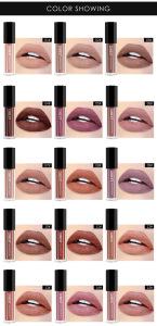 QIBEST Cosmetics Makeup Custom Logo No Label Unlabeled Long Lasting Lip Gloss