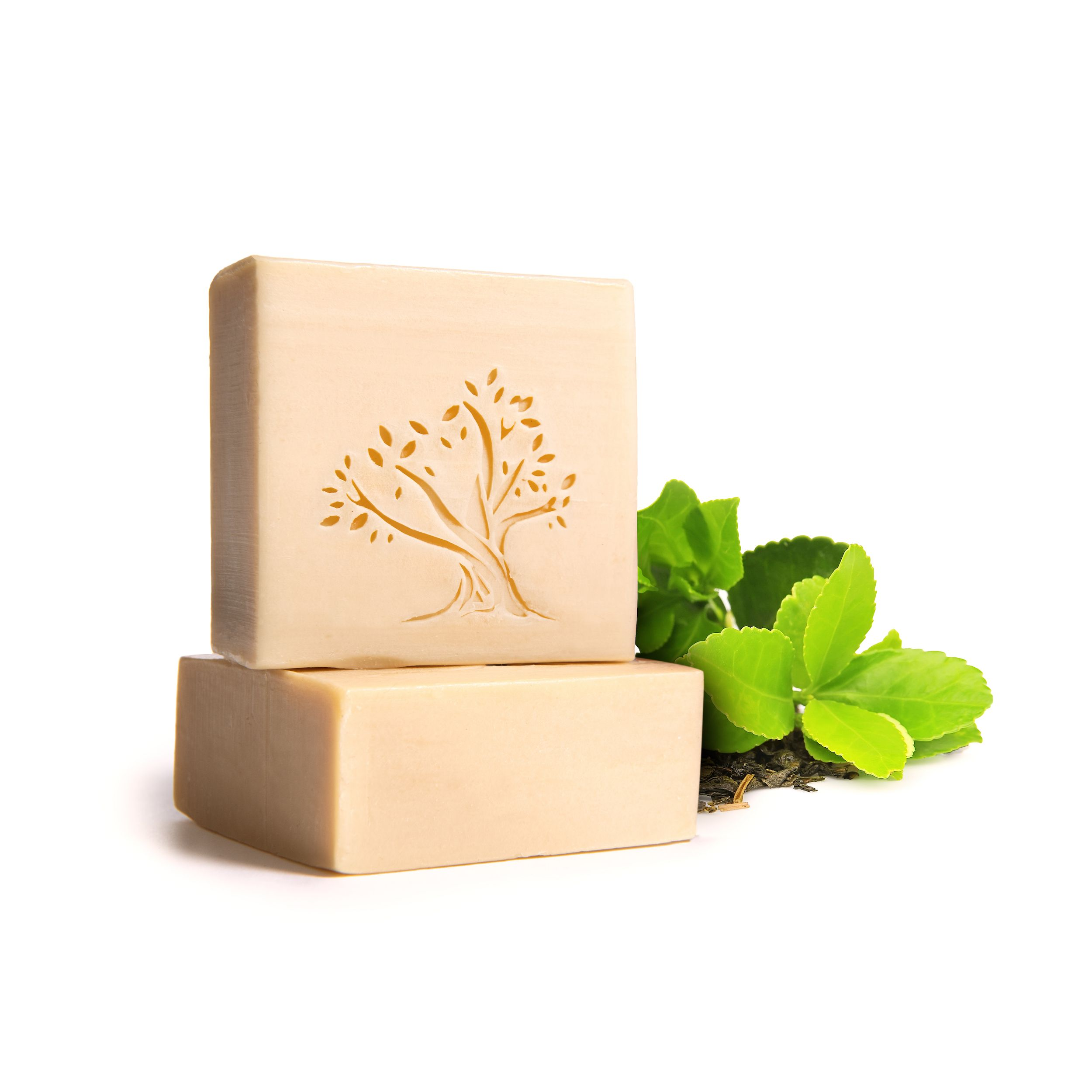 Le Joyau d'Olive - Luxury Pure Olive Oil Soap - Natural Handcrafted Bar for Face & Body - 1-Pack – Green Tea Oil Bath Bar