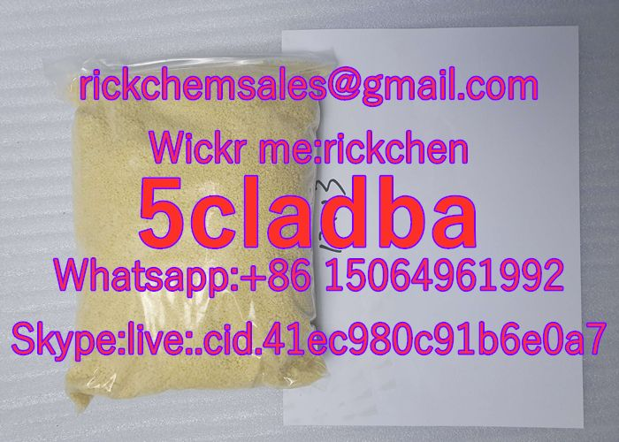 5cladba Strong Cannabinoid for Lab Research Wickr:rickchen 5CL-ADB-A Yellow Powder