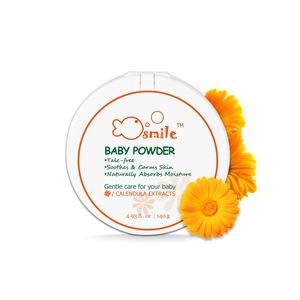 100% Natural Calendula Baby Powder 140g,Silky Soft Skin OEM Manufacturer Supply