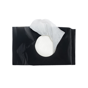 Best quality cotton makeup remover wipes private label with Hyaluronic acid serum